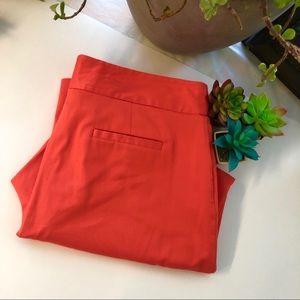 Women's Ruby Rd coral Capri slacks size 10